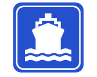Puerto Fotografía de archivo libre de regalías