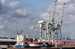 puerto Foto de archivo libre de regalías