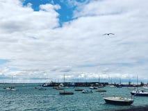 puerto Imagen de archivo libre de regalías