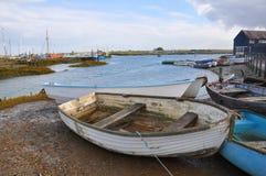 Puerto abrigado Fotografía de archivo libre de regalías