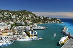 Puerto agradable Foto de archivo