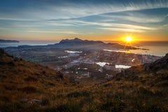 Puerto Alcudia sunrise Stock Photo