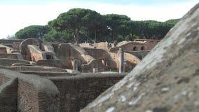 Puerto antiguo de Ostia Antica - de Roma Imagen de archivo libre de regalías