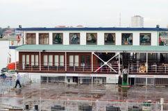 Puerto autónomo de Phnom Penh, en Camboya Imagenes de archivo