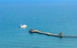 Puerto azul Imágenes de archivo libres de regalías