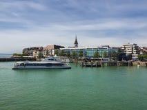 Puerto Baden-Wurttemberg, Alemania de Friedrichshafen Imágenes de archivo libres de regalías