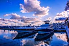Puerto Banus港  免版税图库摄影