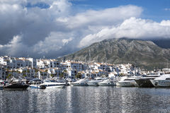 Puerto Banus Royalty-vrije Stock Foto