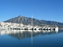Puerto Banus Royalty Free Stock Photography
