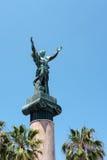 PUERTO BANUS ANDALUCIA/SPAIN - 5月26日:拉维多利亚或胜利S 库存照片
