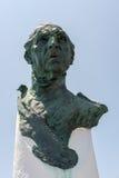 PUERTO BANUS ANDALUCIA/SPAIN - 5月26日:纪念碑致力做 免版税库存图片