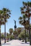 PUERTO BANUS ANDALUCIA/SPAIN - MAJ 26: La Victoria eller seger S arkivbild