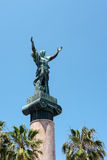 PUERTO BANUS ANDALUCIA/SPAIN - MAJ 26: La Victoria eller seger S arkivfoton