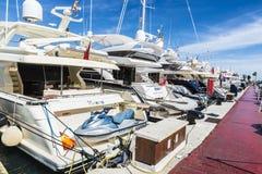 Puerto Banus, Andalusia, Spanien Royaltyfria Foton
