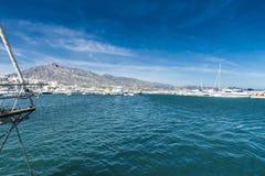 Puerto Banus, Andalusia, Spanien Royaltyfri Foto