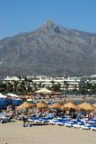 Puerto Banus beach, Marbella. Stock Image