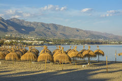 Puerto Banus beach, Marbella, Spain Stock Image
