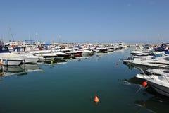 Puerto Banus, Costa del Sol, Spanien Royaltyfria Foton
