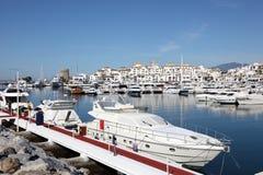 Puerto Banus, Marbella, Ισπανία στοκ φωτογραφίες με δικαίωμα ελεύθερης χρήσης