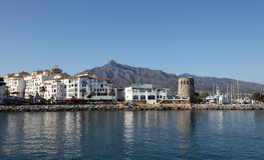 Puerto Banus, Marbella, Ισπανία στοκ εικόνες