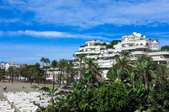 Puerto Banus in Marbella, Andalusien, Spanien Royalty Free Stock Photography