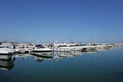 Puerto Banus in Marbella, Costa del Sol, Spain Royalty Free Stock Images