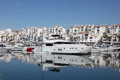 Puerto Banus, Marbella, Hiszpania obraz stock