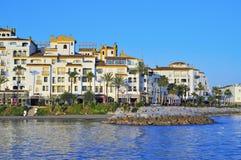 Puerto Banus a Marbella, Spagna Fotografie Stock Libere da Diritti