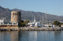 Puerto Banus, Marbella, Spain Royalty Free Stock Image