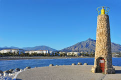 Puerto Banus in Marbella, Spain Stock Image