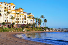 Puerto Banus in Marbella, Spain Royalty Free Stock Photo