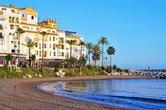 Puerto Banus in Marbella, Spain Royalty Free Stock Photo