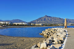 Puerto Banus in Marbella, Spain Royalty Free Stock Photography