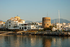 Puerto Banus in Marbella Spain Stock Image