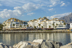 Puerto Banus, Marbella, Spain royalty free stock photos