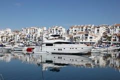 Puerto Banus, Marbella, Spanien fotografering för bildbyråer