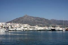 Puerto Banus, Marbella, Spanje stock afbeeldingen