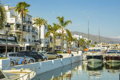 Puerto Banus, Marbella, Spanje Stock Foto
