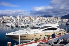 Puerto Banus Marina Stock Image