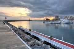 Puerto Banus nadbrzeże, Costa Del Zol, Hiszpania Fotografia Royalty Free