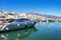Puerto Banus, Nueva Андалусия, Марбелья, Испания стоковое фото rf