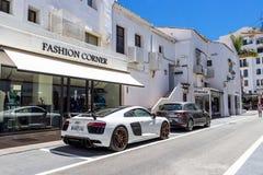 Puerto Banus, Nueva Andalucia, Marbella, Hiszpania zdjęcia royalty free