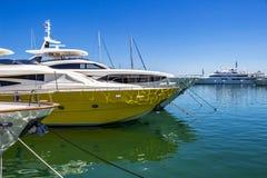 Puerto Banus, Nueva Andalucia, Marbella, Spain royalty free stock photos