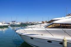 Puerto Banus, Nueva Andalusia, Marbella, Spagna fotografie stock libere da diritti