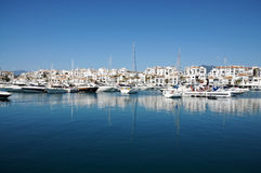 Puerto Banus Royalty Free Stock Photo