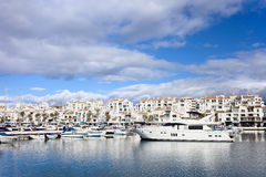 Puerto Banus in Spain Royalty Free Stock Images