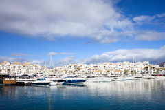Puerto Banus in Spain Royalty Free Stock Image