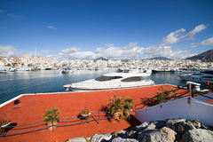 Puerto Banus in Spain Stock Photo