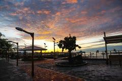Puerto Baquerizo Moreno Stock Image