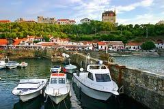 Puerto Biarritz imagen de archivo libre de regalías